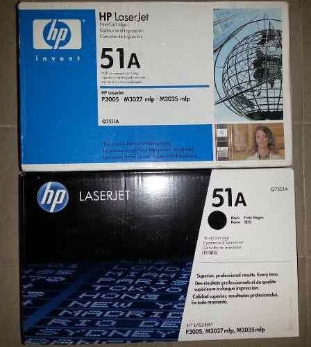 Toner Hp 51a Impresora 3005 Q7551a Remanufacturado 3035 3015