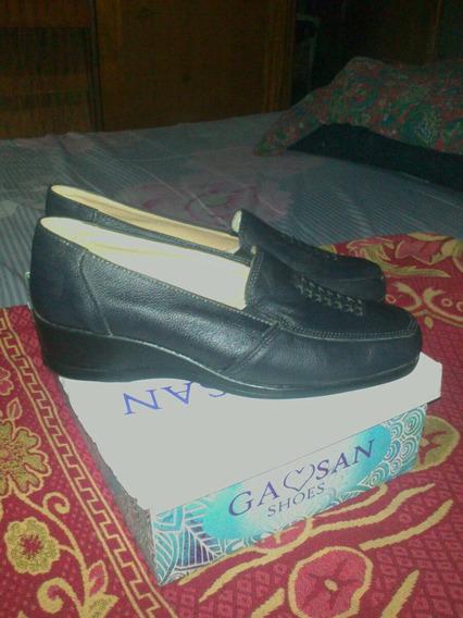 Zapato De Cuero Mujer Talle 40