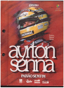 Livro Ayrton Senna Paixão Sem Fim Jornal O Povo (ceará)
