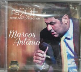 Cd Marcos Antônio - As 20 + / Série Gold Collection - Vol. 3