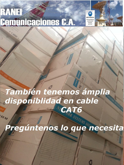 Cable Utp Cat 6 - Rollo 305 Metros - Cctv - Lan 70/30