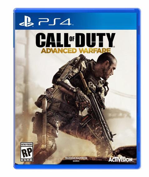 Jogo Novo Call Of Duty Advanced Warfare Playstation 4 Ps4