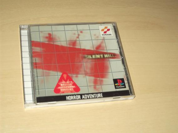 Ps1 - Silent Hill (japonês)