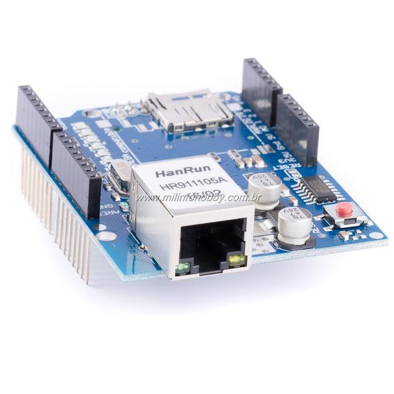 Ethernet Shield W5100 + Sd