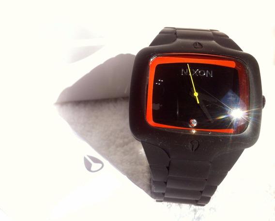 Relógio Nixon The Rubber Player Com Diamante Edição Limitada