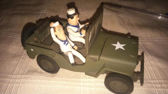 Jeep Willys - Matchbox- Miniatura Cage 1/32- Gordo E O Magro