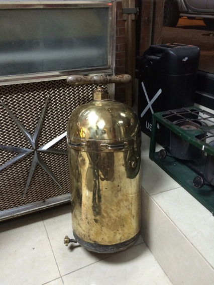 Bomba Antigua De Bronce