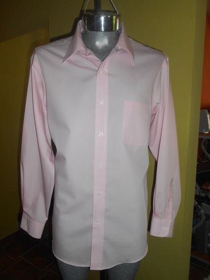 Camisa Croft & Barrow Color Rosa Xl 17