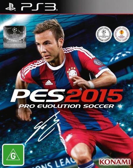 Pes 15 Português Playstation 3 Codigo Psn !!!