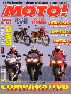 Moto! N°76 Suzuki Gsx-r 750 Kawasaki Zx-9r Yamaha Yzf R1 Cbx