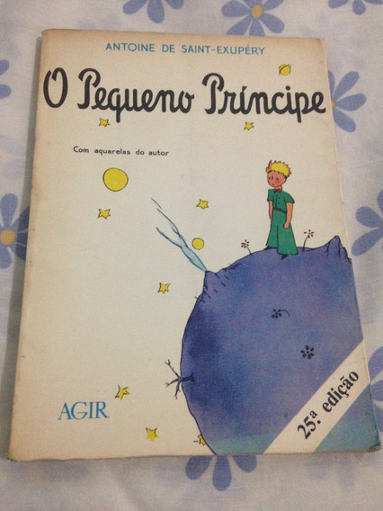 O Pequeno Príncipe Livro Usado Barato 1983 Leia Tudo R$19
