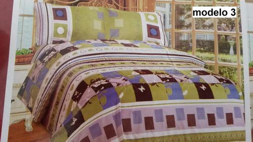 Sabanas King 100% Algodon Para Colchon Doble Pillow