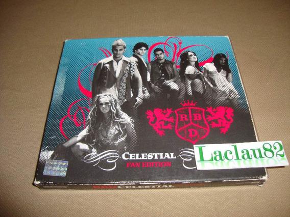 Rbd Celestial Fan Edition 2007 Emi Cd + Dvd Con Funda