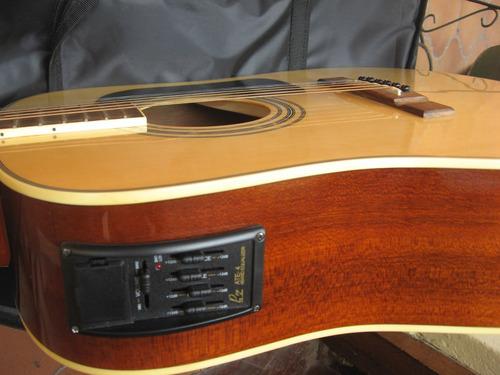 Guitarra Washburn D-10 Eon Electroacústica Eq-pro Artec Ate4