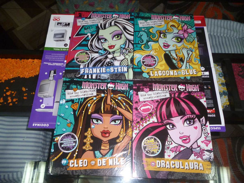 Coleccion Completa Monster High Del Comercio (8 Libros)