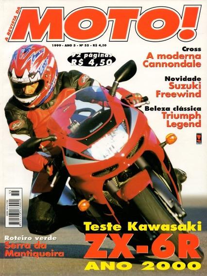 Moto! N°55 Kawasaki Zx-6r Suzuki Freewind Triumph Legend