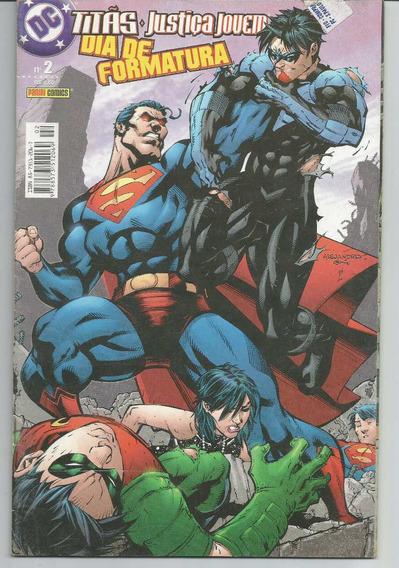 Dc Titãs Justiça Jovem Nº 2 - Ed. Panini - 2004.