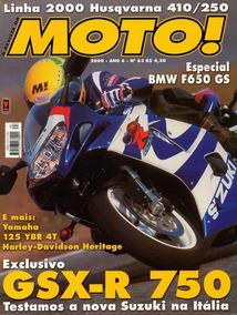 Moto! N°63 Suzuki Gsx-r 750 Yamaha 125 Ybr 4t Bmw F650 Gs