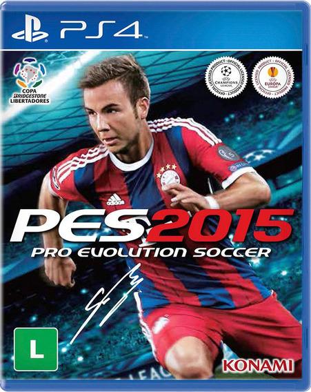 Pes 15 - Pro Evolution Soccer 2015 - Playstation 4 - S. G.