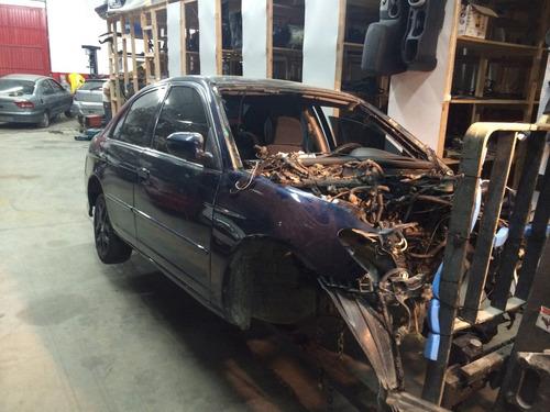 Sucata Honda Civic 1.7 Automático (somente Em Peças)