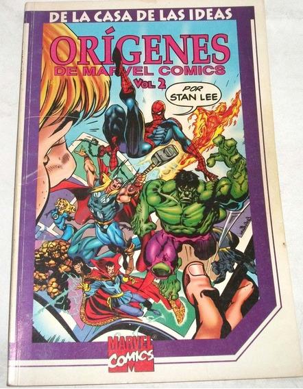 Kcg De La Casa De Las Ideas Origenes De Marvel Comics Vol #2