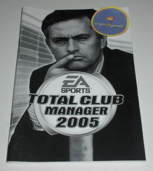 Total Club Manager 2005 ¦ Manual Físico Original Usado