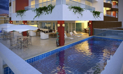 Apartamento En Piantini De 3 Habitaciones Piscina Gym