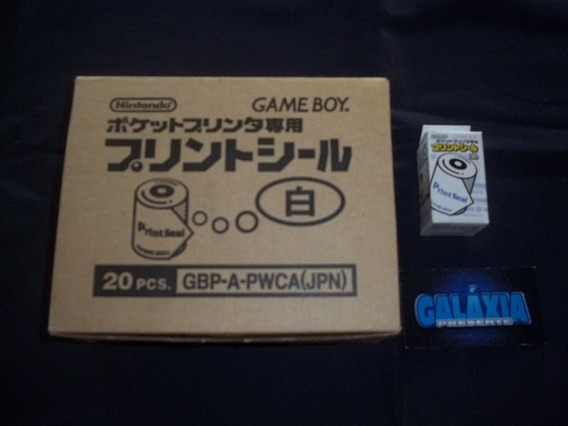 Papel Para Game Boy Pocket Printer Print Seal Cx 20 Unidades