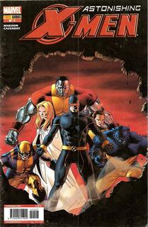 Revistas: Astonishing X-men N°7, 8, 9, 10, 11 Y 12 (panini)