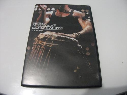 Dvd Ricky Martin Live Black And White Tour-e1b3