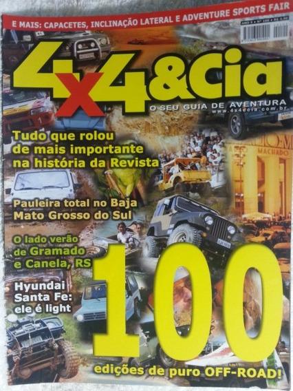 4x4 & Cia Nº100 Nov/01: Hyundai Santa Fé,... - Frete Grátis