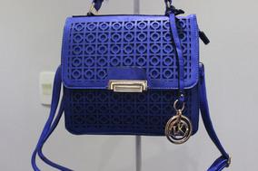 Bolsa Feminina Hil Style Bag | Azul | Cód. 841
