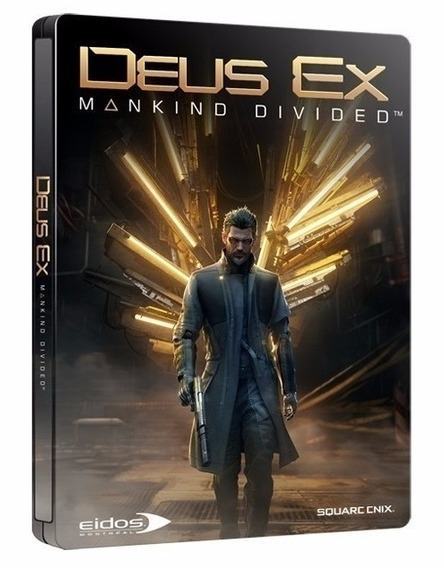 Deus Ex: Mankind Divided Day One Edition - Pc Dvd Frete 8 R$