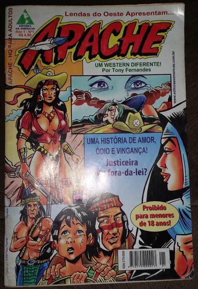 Gibi Apache Ano 1 Nº 1 - Editora As Américas 2009