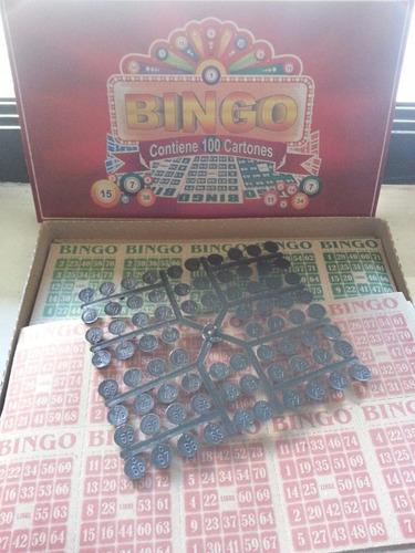 Juego De Bingo Clasico Con 100 Cartones Para Toda La Familia