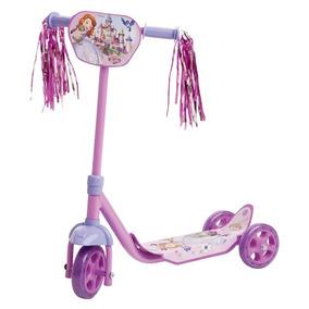 Patinete Infantil Princesa Sofia Com 3 Rodas Multibrink