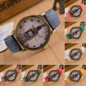 Relógio De Pulso Big Ben-london Colection Unissex