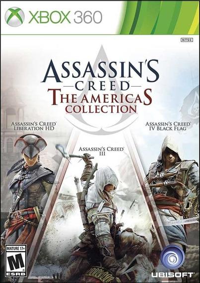 Jogo Assassins Creed The Americas Collection Para Xbox 360