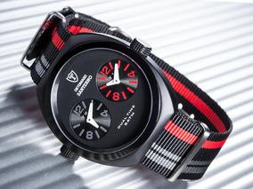 Relógio Detomaso Santerno Black Red