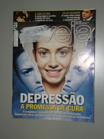 Revista Veja - Depressão A Promessa De Cura
