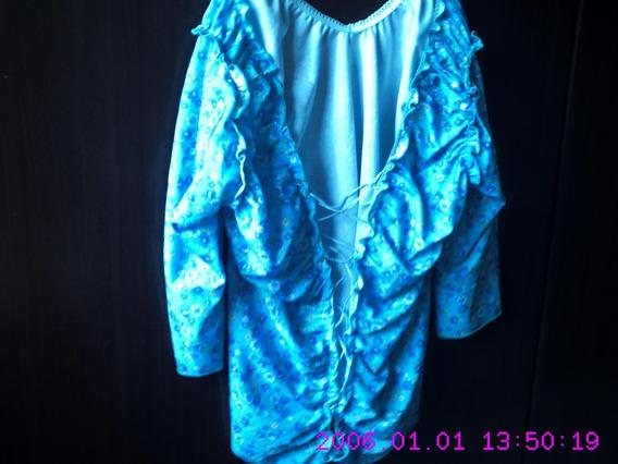 Blusa Azul Florida - Passaggio