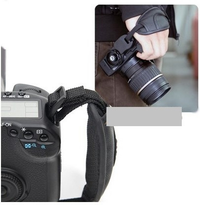 Cinta De Mão (punho) P/ Cameras C/ Rosca 1/4