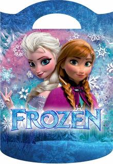 Bolsitas Golosineras Tipo Valijita Motivo Frozen Pack X 10u