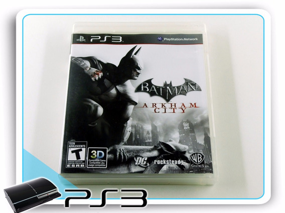 Ps3 Batman Arkham City Original Playstation 3