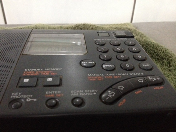 Raridade!!! Rádio Sony Icf-sw7600g World Band Receiver
