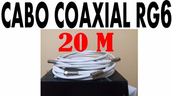 Cabo Coaxial Rg6 Antenas