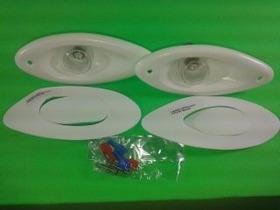 Olho Tubarão/2 Porta Copos/2 Luzes Cortesia