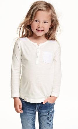 Blusa Para Niña Marca H&m 100% Original