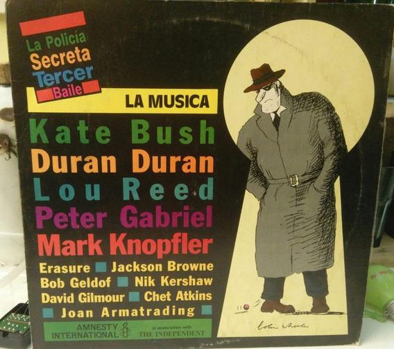 La Policia Secreta Lou Reed Duran Duran Peter Gabriel Vinil