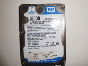 Hd 320gb Wd Scorpio Blue Wh1a31r9289 *defeito